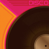 Poster do disco Fotografia de Stock Royalty Free
