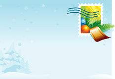 Poster do Natal ilustração royalty free