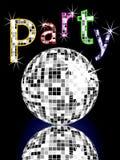 Poster do partido Fotos de Stock