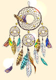 Poster dream catcher Stock Photography