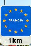 Poster of the European Union Royalty Free Stock Photos