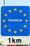 Poster of the European Union Royalty Free Stock Photos