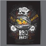 Poster. fast food vector logo design template. hamburger, fish or menu board icon. royalty free illustration