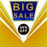 Poster grande da venda Fotos de Stock Royalty Free