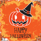 Poster happy halloween vector design Stock Photos