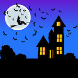 Poster for helloween Royalty Free Stock Photos