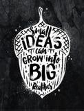 Poster Ideas chalk Stock Photos