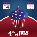 Poster of independence day usa Royalty Free Stock Photo