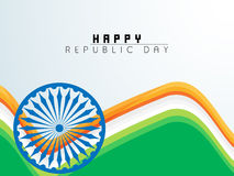 Poster for Indian Independence Day and Republic Day celebration. Stock Image