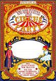 Poster Invite for Circus Party Carnival Royalty Free Stock Photos