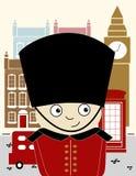 Poster: London, England stock illustration