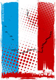 Poster of luxembourg. Map of luxembourg on the flag Stock Images