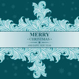 Poster Merry Christmas and Happy New Year Royalty Free Stock Photography
