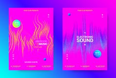 Poster for Music Event Promotion. vector illustration