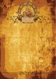 Poster ocidental selvagem Foto de Stock