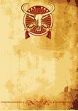 Poster ocidental selvagem II ilustração royalty free