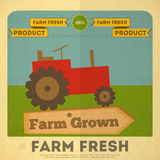Poster for Organic Farm Food Stock Photos