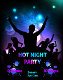 Poster for party template Royalty Free Stock Photography