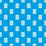 Poster pattern seamless blue Stock Images