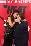 Poster Perfect:  Sandra Bullock and Melissa McCarthy Royalty Free Stock Photo