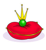 Poster Princess and the Pea Royalty Free Stock Photography