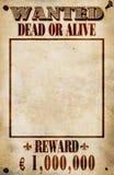 Poster querido - euro- recompensa Fotos de Stock