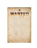 Poster querido isolado imagem de stock royalty free