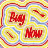 Poster retro da venda Imagem de Stock