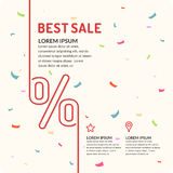 Vector Sale banner. Original concept poster discount sale. Sale banner. Vector illustration Stock Photo