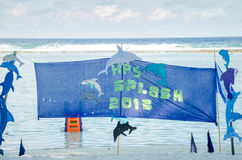Poster of Splash 2015 event Stock Photo