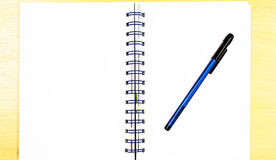 Poster style blue diary book Royalty Free Stock Photos