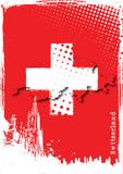 Poster of switzerland Royalty Free Stock Images
