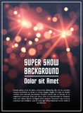 Poster template background. In vector Royalty Free Stock Photo