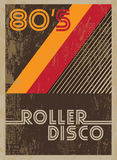 Poster vintage 19. Disco poster with retro design elements. Vector illustration vector illustration