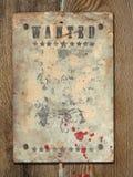 Poster Wanted Stock Photos