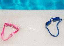 Poster for water spots and swimming Stock Photography