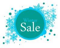 Poster winter sale Stock Photos