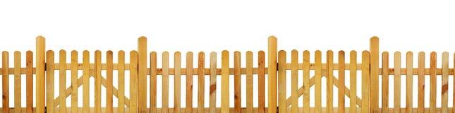 Posteringstaket, trädgårds- staket fotografering för bildbyråer