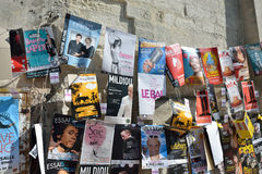 Posters, Avignon Theater Festival Stock Photography