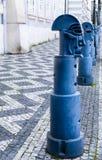 Postes de amarração no namesti de Malostranske em Praga Imagem de Stock Royalty Free