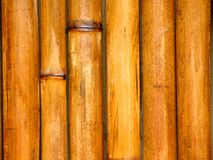 Postes de bambú Foto de archivo libre de regalías