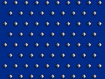 Postes del diamante en azul ilustración del vector