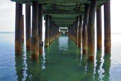 Postes oxidados Imagen de archivo