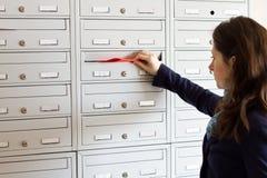Postförderung Stockbild