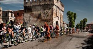Postgirot D Italia för 98 rd (turnera av Italien) - cykla Royaltyfri Bild
