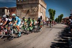 Postgirot D Italia för 98 rd (turnera av Italien) - cykla Royaltyfria Foton
