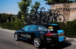 Postgirot D Italia (turnera av Italien) - cykla för 98 rd laghimmel Royaltyfria Foton