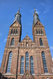 Posthoornkerk教会在阿姆斯特丹 免版税库存图片