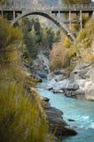 Posti di paradiso in Nuova Zelanda/lago Teanua Immagine Stock Libera da Diritti
