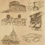 Posti e no. famosi 20 delle costruzioni Immagini Stock Libere da Diritti
